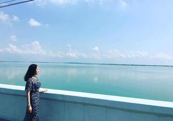 Hồ Dầu Tiếng Tây Ninh được mệnh danh là Biển Hồ của Việt Nam.