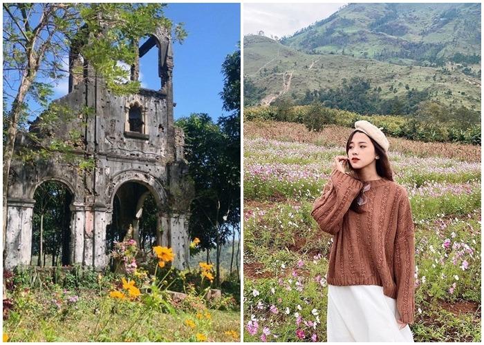 Về Gia Lai check-in giáo đường H'Bâu trăm tuổi dưới chân núi Chư Đăng Ya