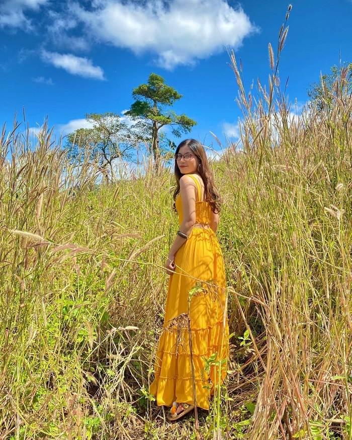 Grass hill near H'Bau Gia Lai church