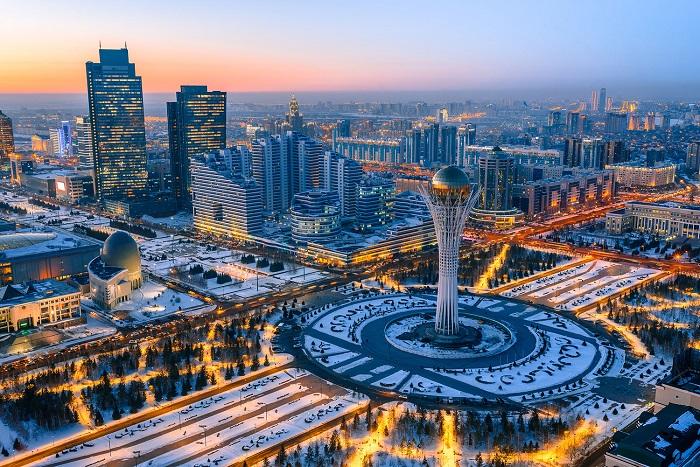 Thủ đô Astana - Trải nghiệm trên Con đường Tơ lụa
