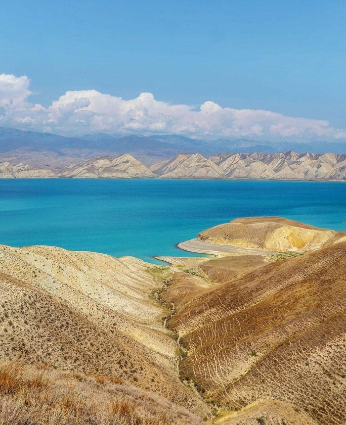 Hồ Toktogul ở Kyrgyzstan - Trải nghiệm trên Con đường Tơ lụa