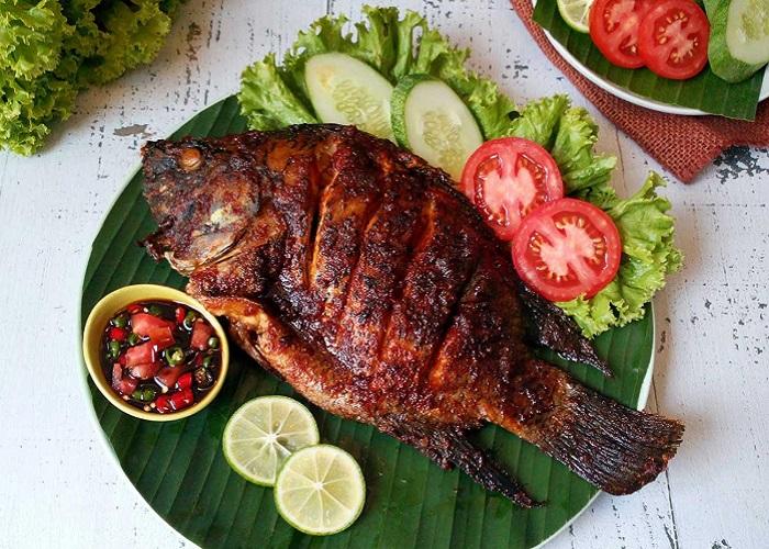 Cá nướng Ikan Bakar - Đặc sản Malaysia ngon, nổi tiếng