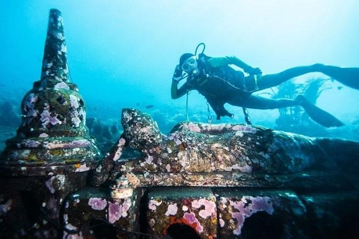 Vườn đền dưới nước - Những địa điểm du lịch mới nhất ở Bali