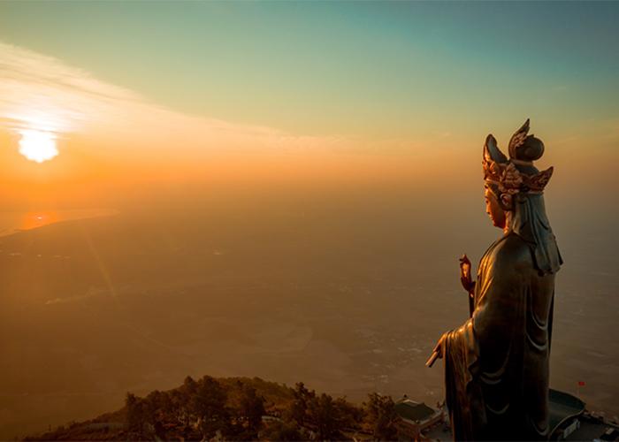 Viếng tượng Phật Bà Tây Bổ Đà Sơn linh thiêng trênnúi Bà Đen