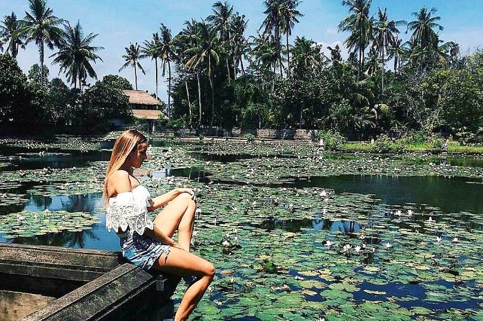 Đầm sen ở Candidasa - Những địa điểm du lịch mới nhất ở Bali