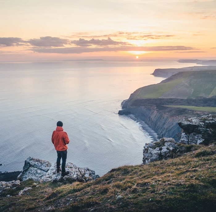 One of the most stunning parts of the UK coastline - Jurassic Coast
