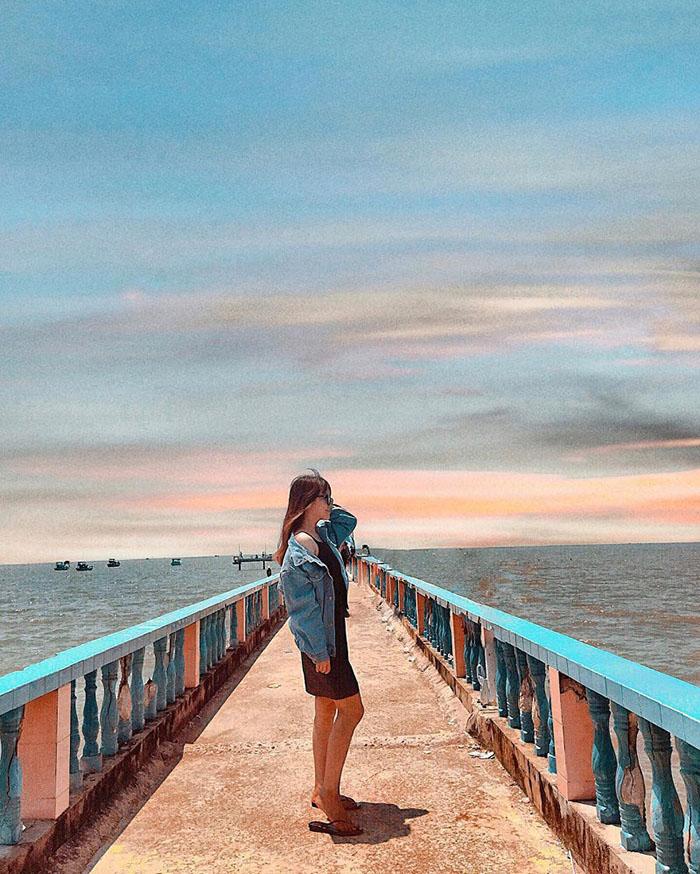 Bật mí kinh nghiệm du lịch Gò Công - Chiếc cầu dài