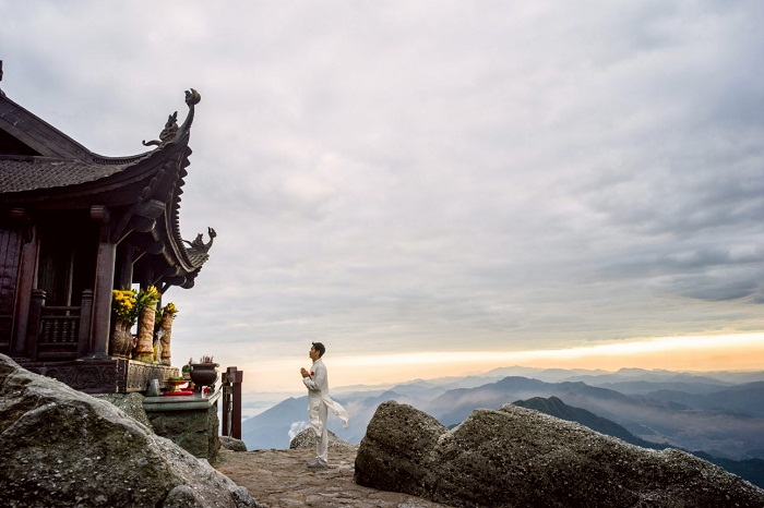 The legend of Dong Yen Tu pagoda