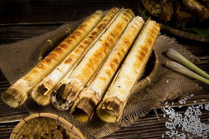 Cơm lam - Đặc sản ở Lào Cai