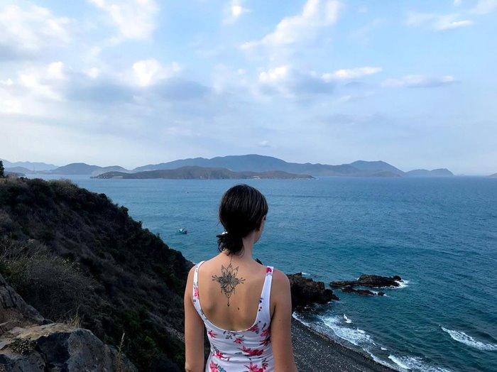 Check-in Cu Hin Pass, beautiful pass in Nha Trang