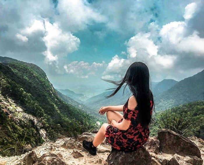 The beauty of Cu Hin Pass is a beautiful pass in Nha Trang