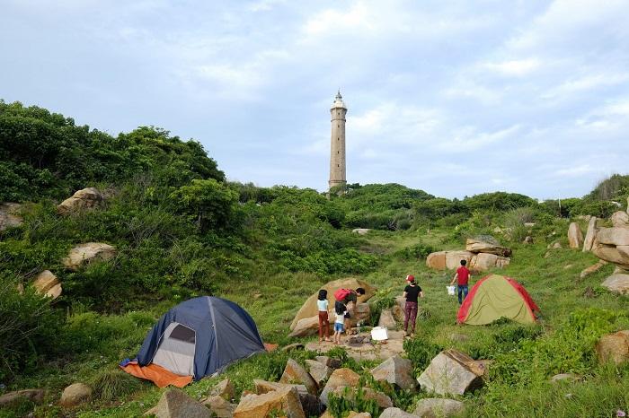Hải Đăng Kê Gà - Địa điểm cắm trại ở Phan Thiết