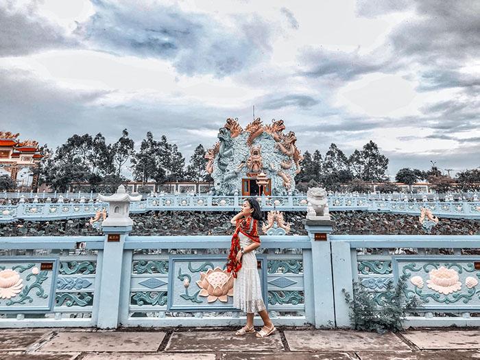Viếng chùa Huỳnh Đạo An Giang - Điểm check in thu hút