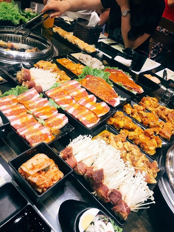 Nhất Nướng là một trong những quán nướng ngon ở Hà Nội