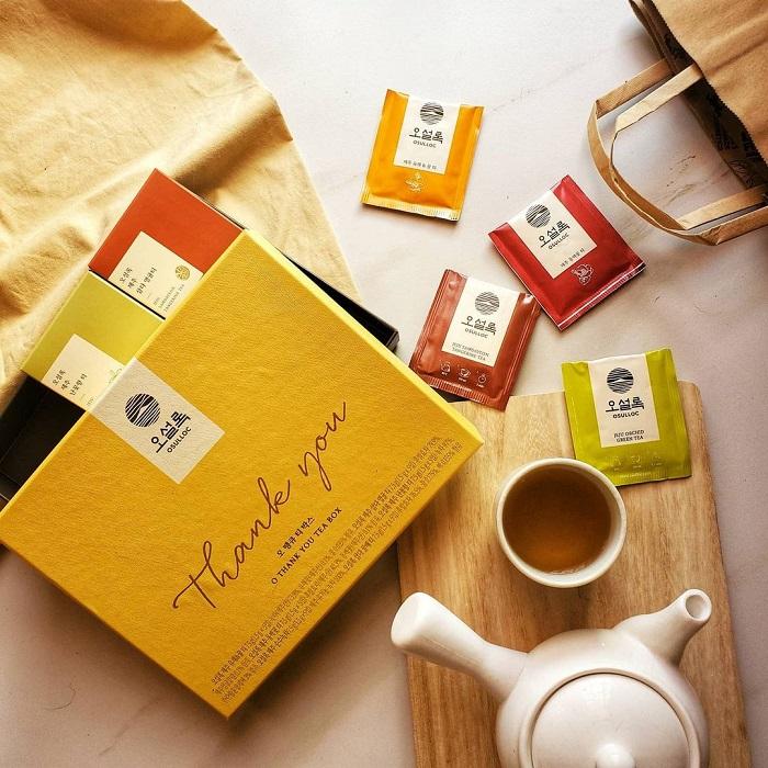 du lịch Hàn Quốc tháng 4 - mua trà làm quà