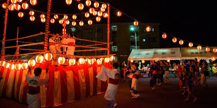 What month to travel to Japan - Obon festival