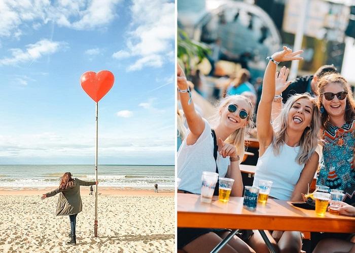 Kinh nghiệm du lịch thành phố bên bờ biển Ostend nước Bỉ