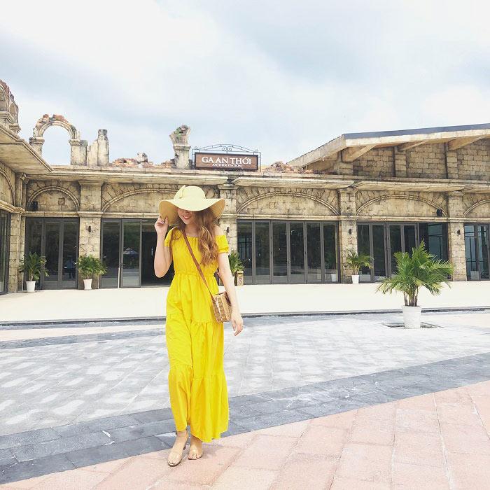Phu Quoc tourist 3 days 2 nights - An Thoi Railway Station