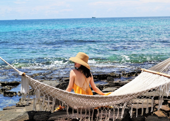Phu Quoc tourism 3 days 2 nights - May Rut island