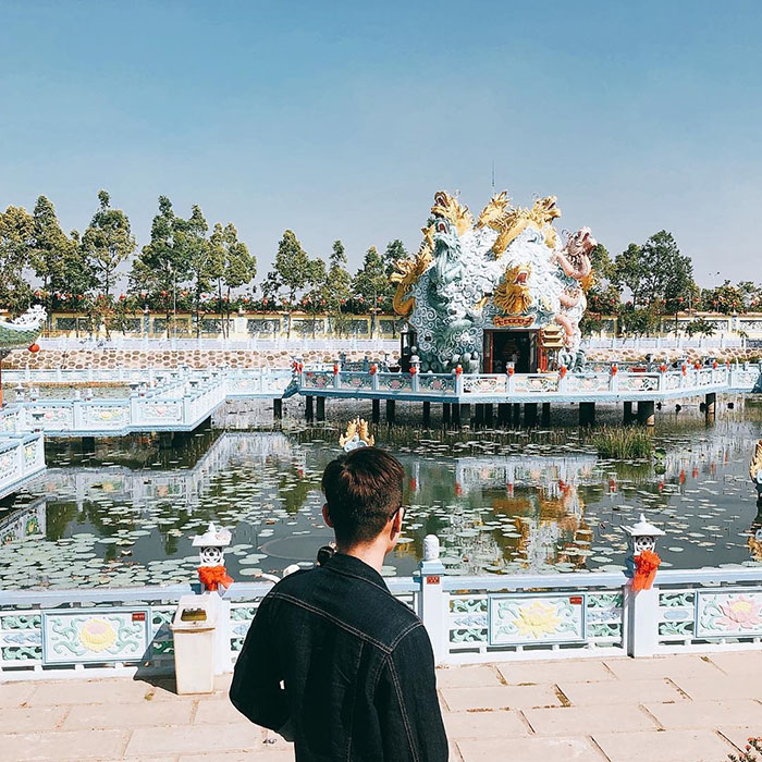 Viếng chùa Huỳnh Đạo An Giang - Đường đi đến chùa