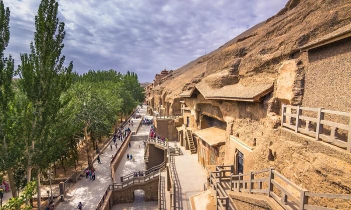 Kiến trúc kỳ lạ ở hang động Mogao - Trải nghiệm trên Con đường Tơ lụa
