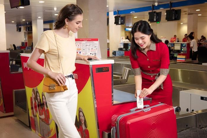 Hàng không Vietjet miễn phí hành lý ký gửi lên tới 20kg khi bay nội địa