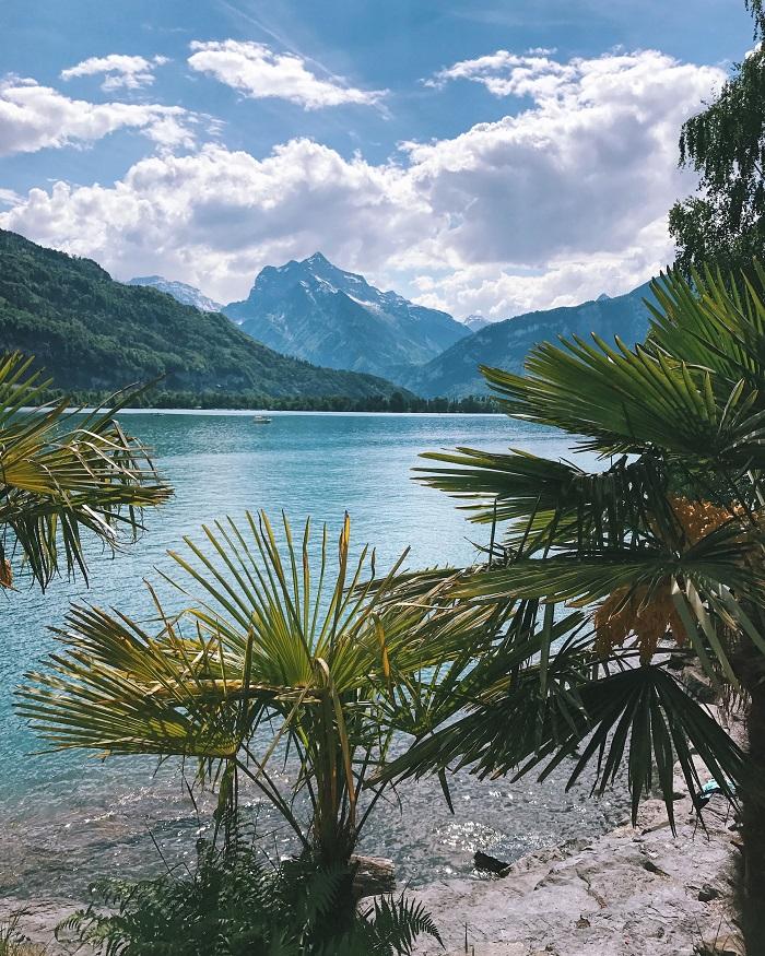 Khu vực này cũng là một địa điểm đẹp trên Hồ Walensee