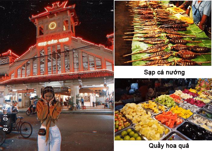 'U mê quên lối về' khi đặt chân đến chợ đêm Tây Đô Cần Thơ