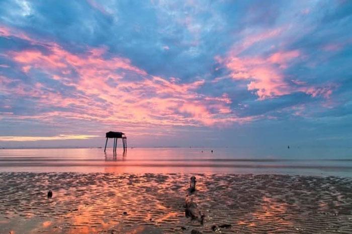 Bật mí kinh nghiệm du lịch Gò Công - Khu vực bãi biển