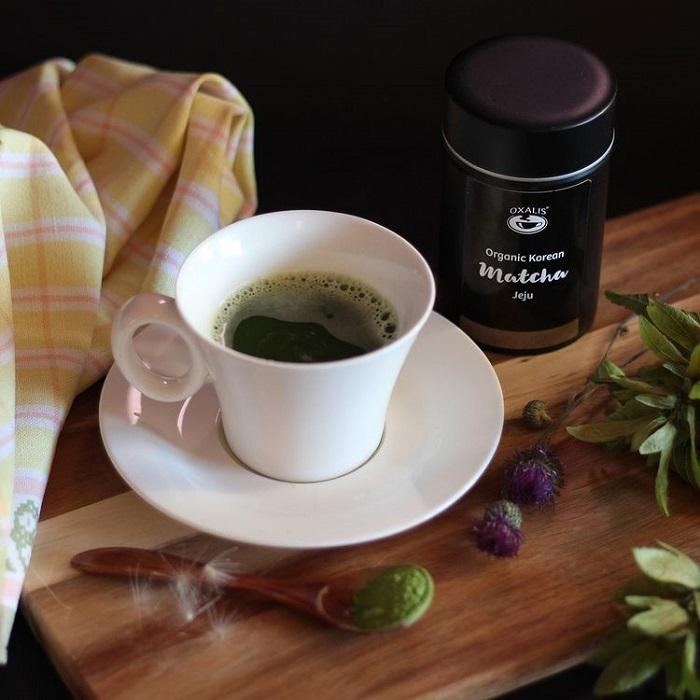 Jeju travel experience - matcha tea