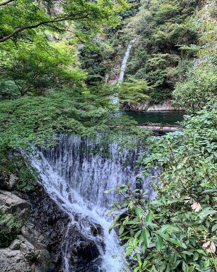 Kobe travel experience - visit Nunobiki waterfall