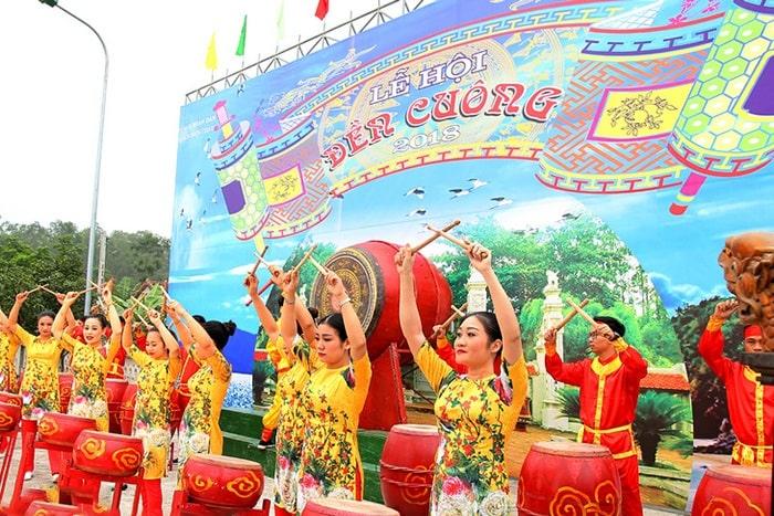 Hội đền Cuông - Lễ hội ở Nghệ An nổi tiếng