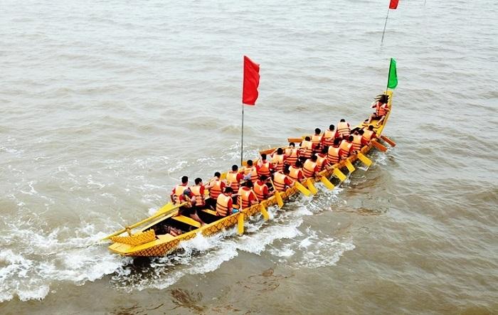 Lễ hội đua thuyền - Lễ hội truyền thống ở Phan Thiết