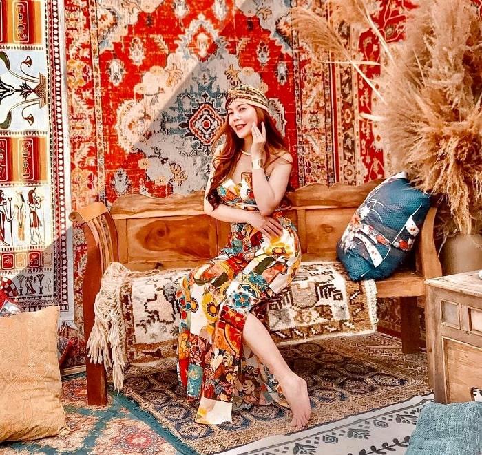 căn phòng maroc - tiểu cảnh ấn tượng tại Khu dã ngoại Lee's Hillside