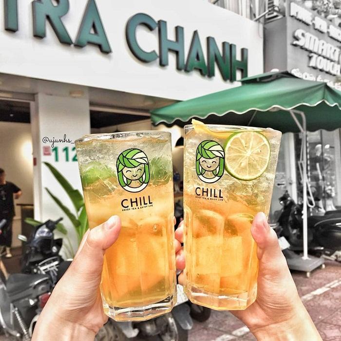 Trà chanh là một trong những thức đồ uống giải nhiệt mùa hè ở Hà Nội