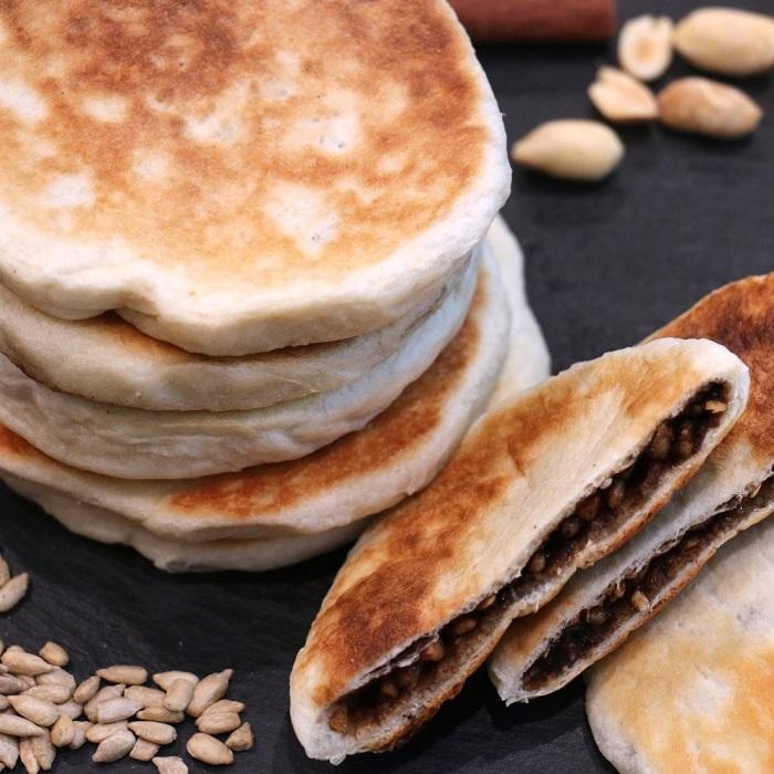 món tráng miệng Hàn Quốc - bánh Hotteok