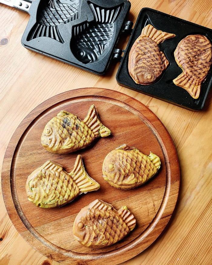 món tráng miệng Hàn Quốc - bánh cá