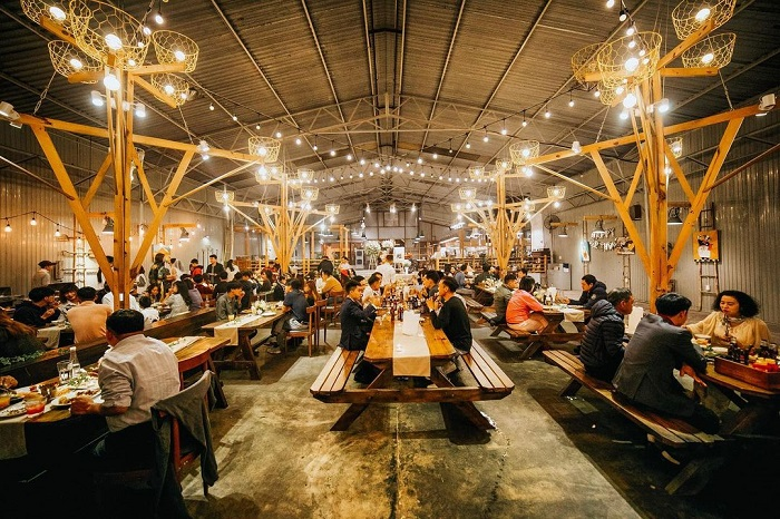 European-style restaurant in Dalat - Barn House BBQ BEER