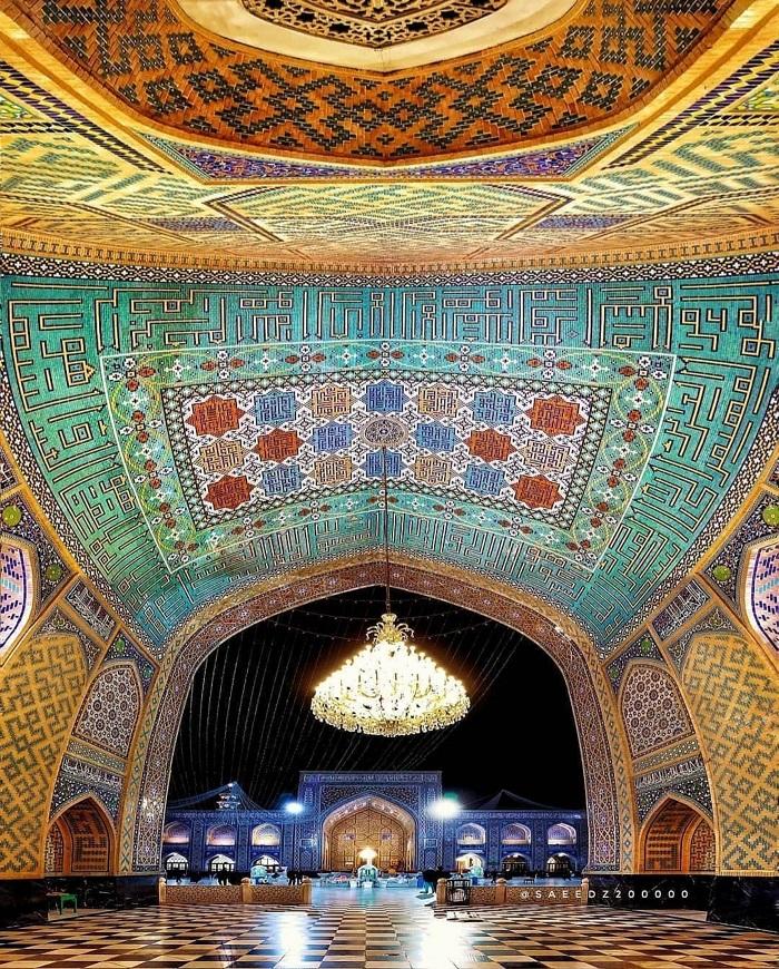 Nhà thờ Hồi giáo Gohar Shad - Trải nghiệm trên Con đường Tơ lụa