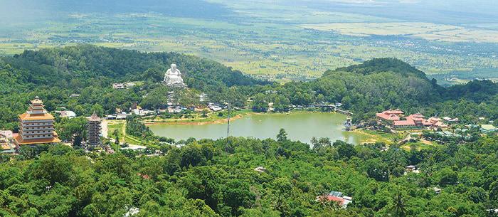 Khám phá vùng Bảy Núi An Giang - Núi Cấm được quy hoạch thành khu du lịch