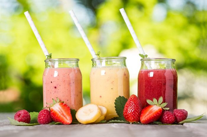 Nước ép hoa quả - đồ uống giải nhiệt mùa hè ở Hà Nội
