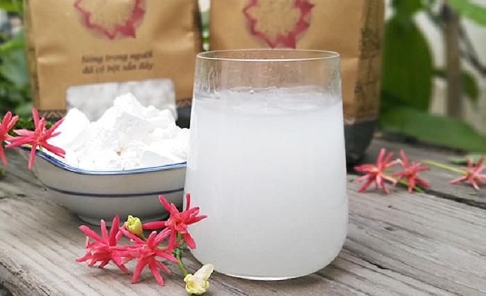 Nước sắn dây là một trong những thức đồ uống giải nhiệt mùa hè ở Hà Nội