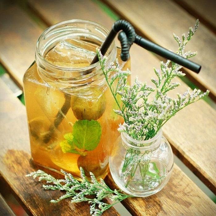 Nước sấu là một trong những thức đồ uống giải nhiệt mùa hè ở Hà Nội