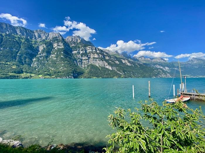 Làng Murg - Hồ Walensee với khung cảnh thiên nhiên tuyệt đẹp