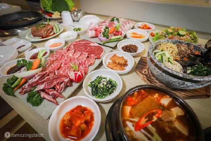Korean restaurant in Da Lat - Bukchon restaurant