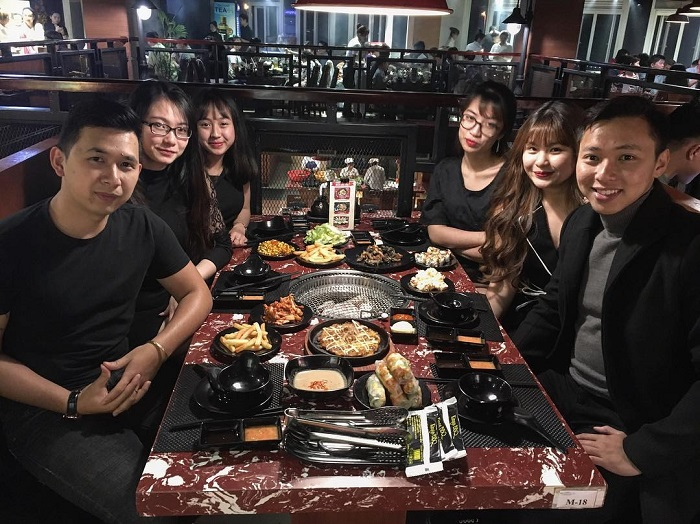 Korean restaurant in Dalat - Kings BBQ