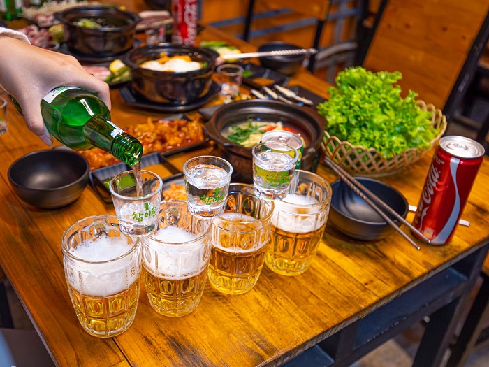 Korean restaurant in Dalat - Pojangmacha - First Love