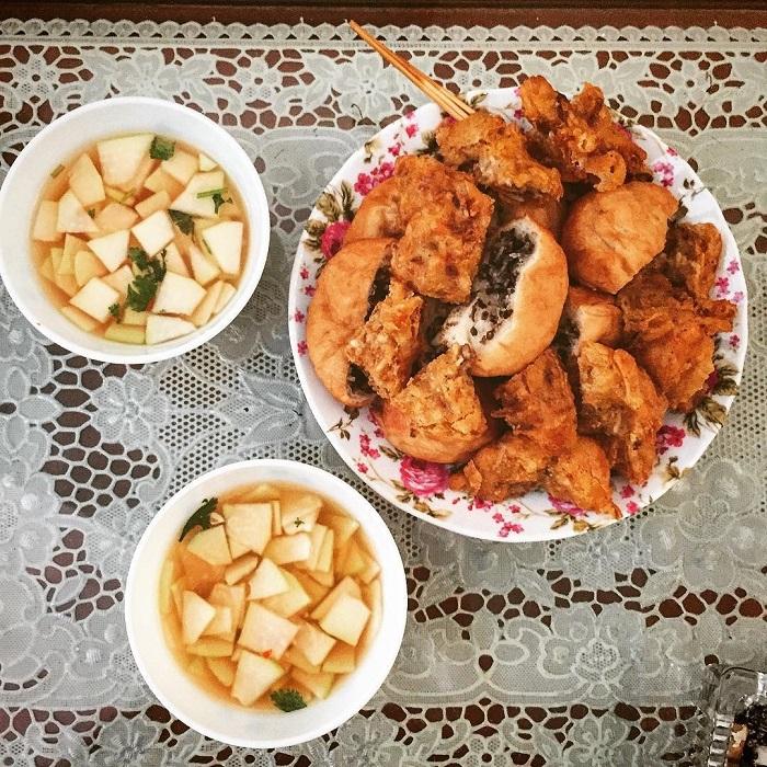 quán ăn vặt ở Lạng Sơn - quán áp chao Xuân Sửu