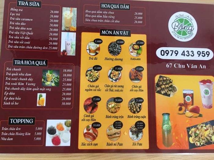 quán ăn vặt ở Lạng Sơn - quán ăn vặt Bống