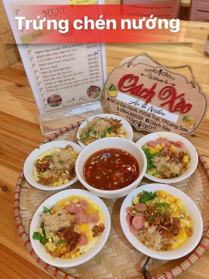 quán ăn vặt ở Lạng Sơn - quán ăn vặt Oách Xèo